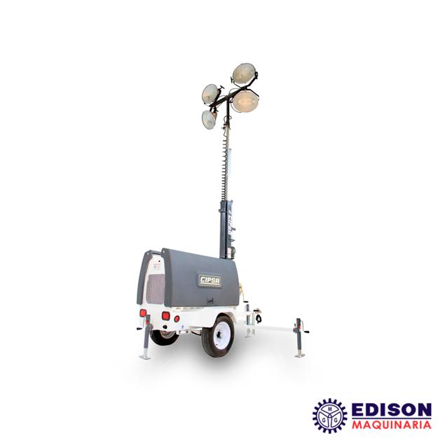 Imagen de Torre de Iluminación CTI6000 6000W Motor KOHLER Diesel 14.3HP